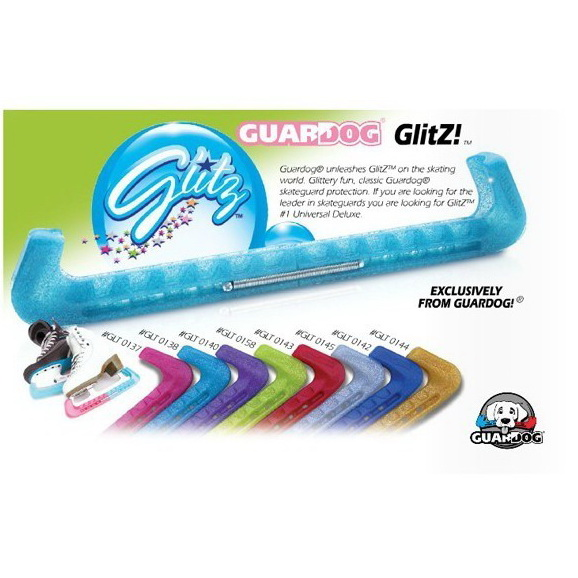 GuarDog GlitZ Glittery blade guards